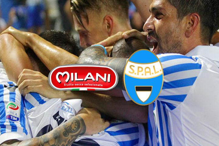We love Spal! Milani sponsor per la stagione 2017-2018