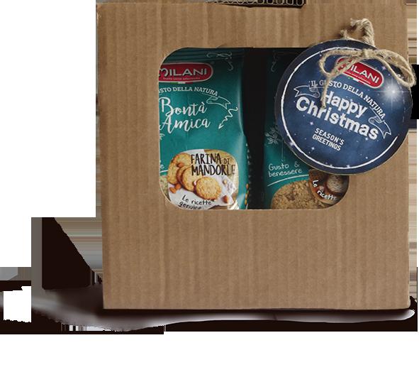 Happy Christmas – Farine di mandorle e Farina di nocciole