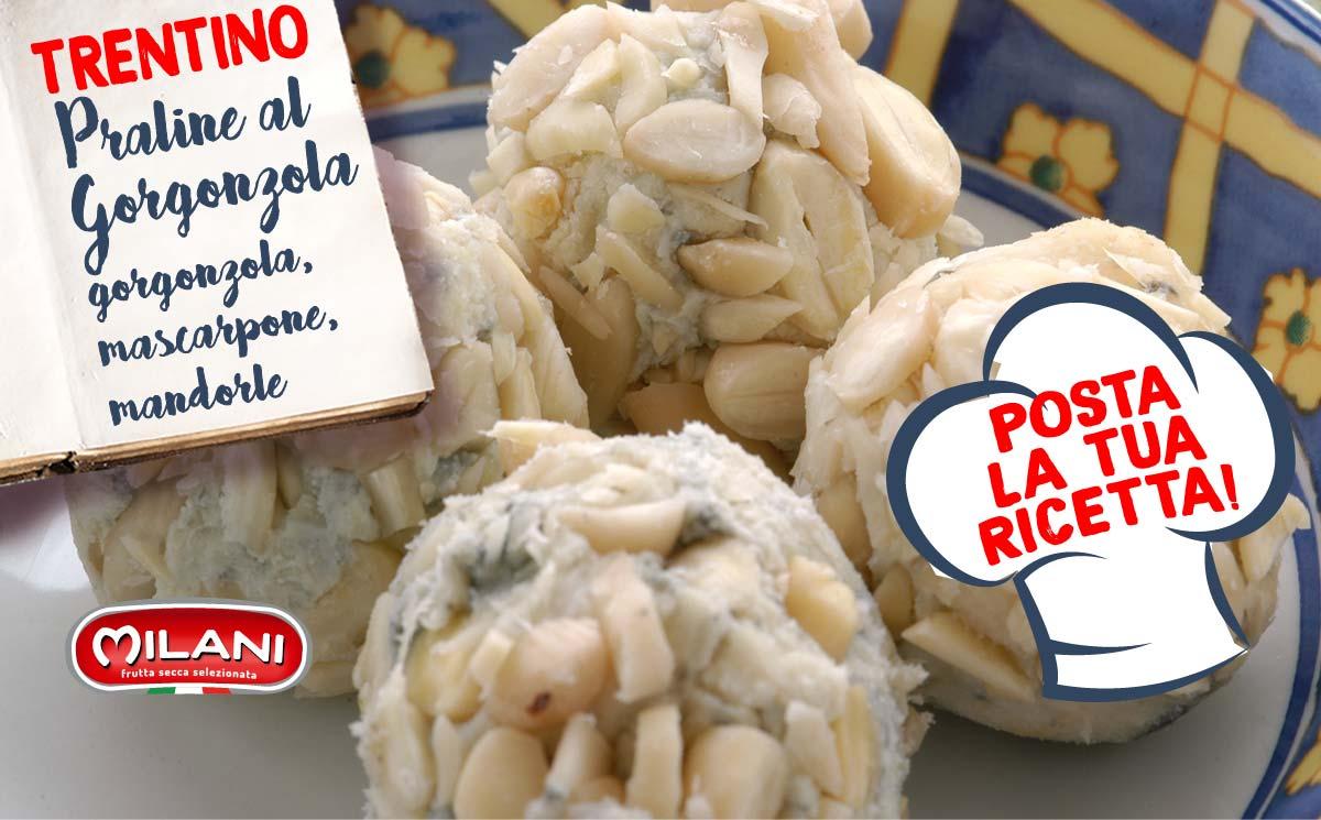 Posta la tua ricetta: Praline al Gorgonzola