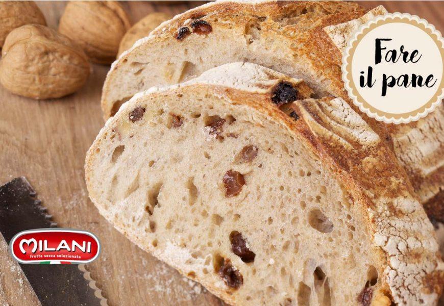 Pane con le noci e l'uvetta: la ricetta per farlo a casa