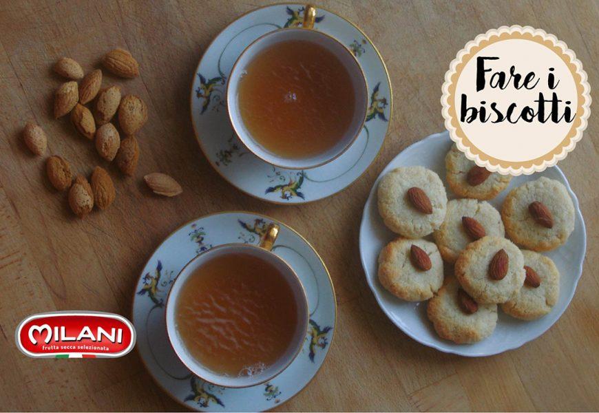 Biscotti con farina di mandorle e cocco, senza lievito