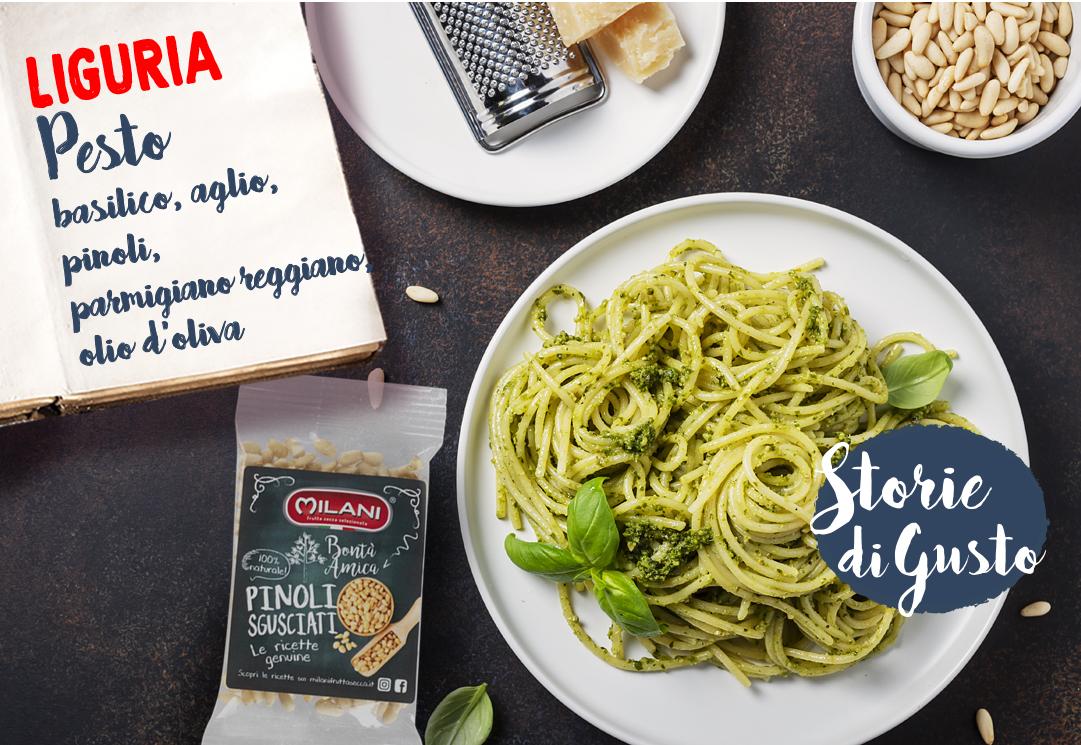 Storie di gusto – Pesto alla genovese con pinoli