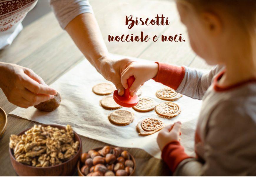 Biscotti alle nocciole e noci, per la festa dei nonni