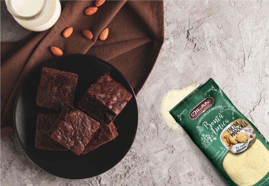 Torta cioccolato e farina di mandorle